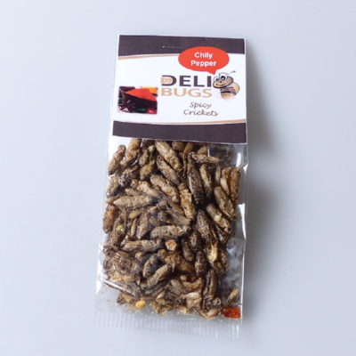 Delibugs Krekels Chili Pepper